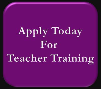 Apply Today For Your Yoga Teacher Training.