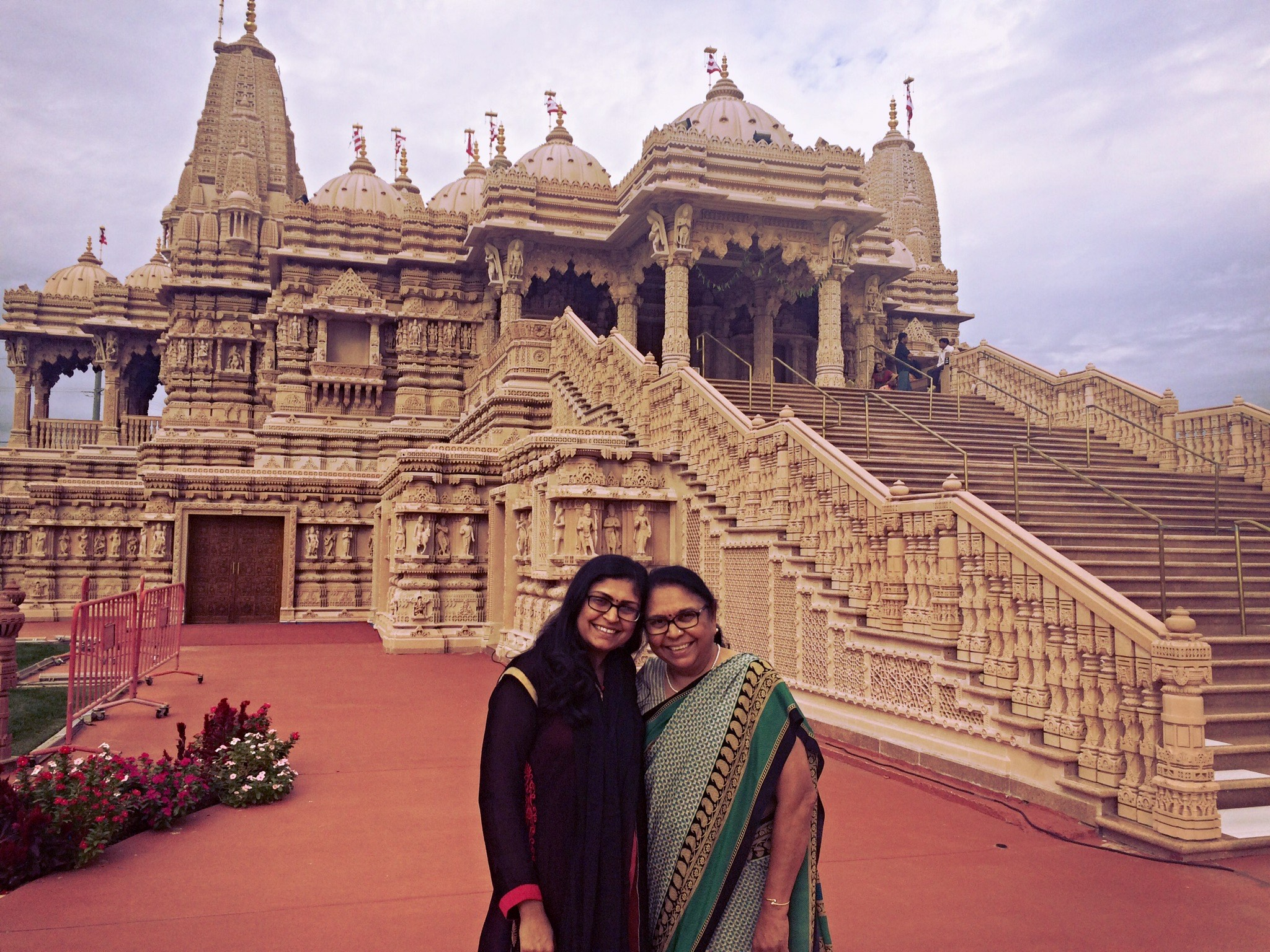 Photo of Deepa and her Mother in India
